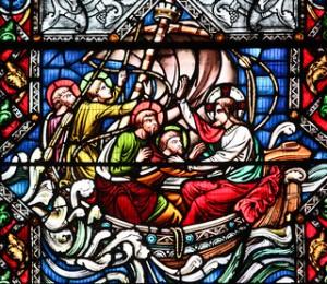 Christ Calms the Sea